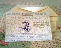 Convite Casamento Bicicleta
