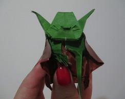 Mestre Yoda em Origami