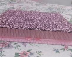 Caixa Grande em MDF forrada com tecido