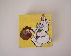 coelho com cestinha
