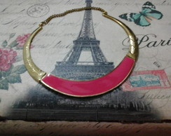 Colar Metal Pink