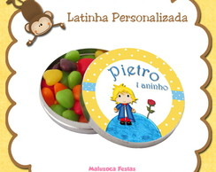Adesivo Latinha Pequeno Pr�ncipe