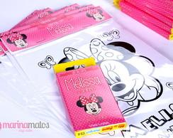 Kit Colorir Minnie