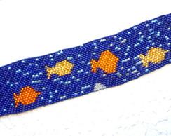 Bracelete de Mi�angas *Aqu�rio*