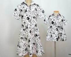 Vestidos M�e/filha N�38a46,Ga6