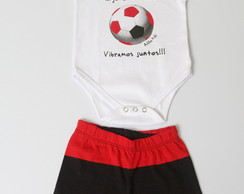 BODY SHORT BOLA FLAMENGO