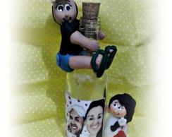 Noivinhos na garrafa