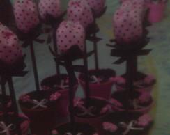 Vaso Com Tulipa