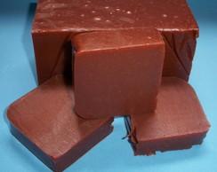 Sabonete em barra - Argila vermelha