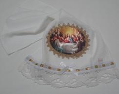 Toalha Lavabo Santa Ceia 1