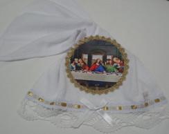 Toalha Lavabo Eucaristia Santa Ceia 4