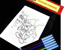 A Casa do Mickey Kit Para Colorir