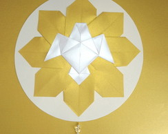 Pomba do esp�rito santo em origami