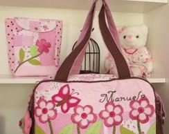 Bolsa Maternidade + Porta Fraldas