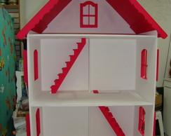 Casa de boneca para Barbie