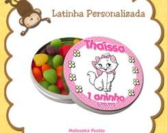 Latinha Personalizada Gata Marie