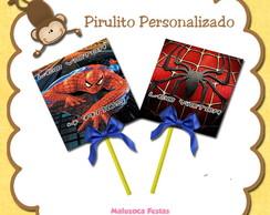 Pirulito personalizado Homem aranha