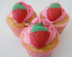 Cupcake Moranguinha