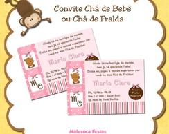 Convite Ch� de Fralda