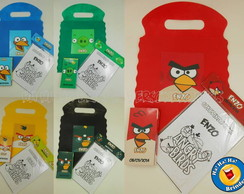 Sacolinha Kit Colorir Angry Birds