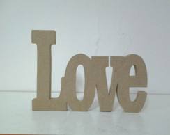 Love Decorativo 14alt. Sem Pintura