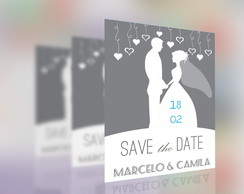 Save The Date Magn�tico