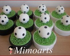 Bola De Futebol Em Biscuit