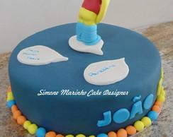 Bolo e Cupcakes Simpsons