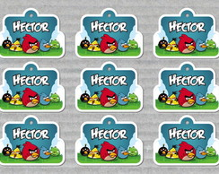 Angry Birds - Tags Personalizadas