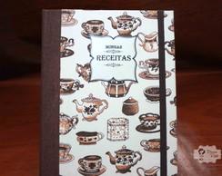 Caderno de Receitas Vintage