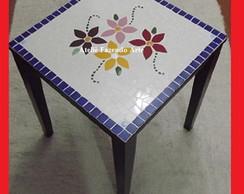 Tampo de mesa de mosaico