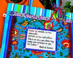 Sacola Poema Cole��o Marla de Queiroz