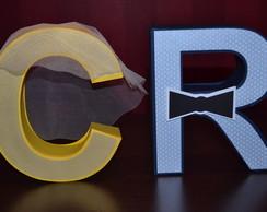 Letras 3D Noivinhos