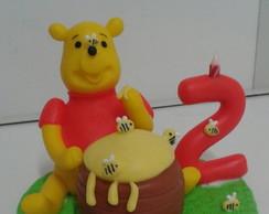 Topo do bolo ursinho Pooh