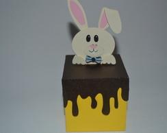 Caixinha chocolate derretendo