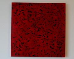 Abstrato vermelho folhas