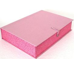 Caixa Organizadora Rosa e Po�s