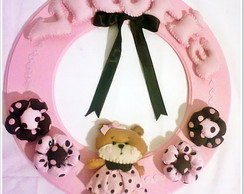 Quarto Completo Ursa Rosa E Marrom