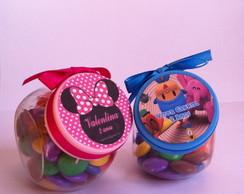 Mini baleiro com confetti
