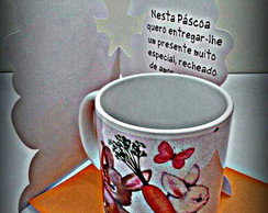 Kit De P�scoa- Caneca + Cart�o!