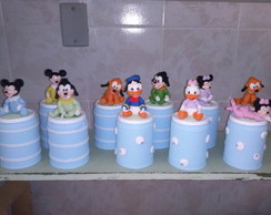 LATAS DECORADAS DISNEY BABY