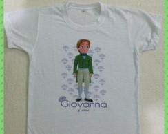 T-shirt infantil Pr�ncipe James