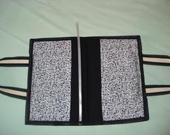 porta livro, agenda, b�blia em patchwork