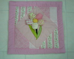 Almofada Patch Flor