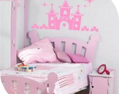 Adesivo Castelo da Princesa-Frete Gr�tis