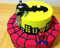 Caixa de bolo em EVA