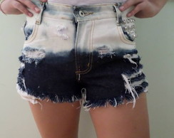 Hot Pants shorts jeans customizado