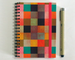 Caderno Espiral Decorated Pixel