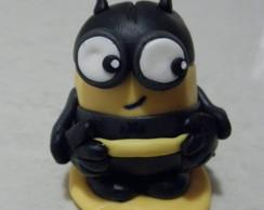 Minion Batman Em Biscuit