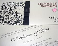 Convites de Casamento Modelo 12D